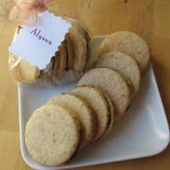 Coconut Sandwich Cookies for Alyson