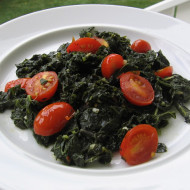 Kale…It's not just a salad bar garnish.