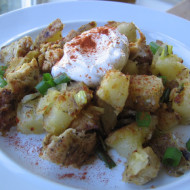 Plain Food Should Look Good Too…Savory Chicken Hash