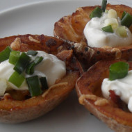 Loaded Potato Skins…Just in time for the Super Bowl!