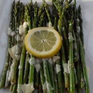 Lemon & Parmesan Asparagus