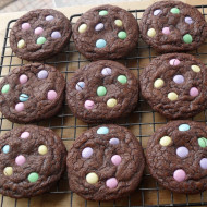 Quick & Easy Triple Chocolate Cookies