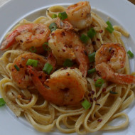 Quick Lemon Tarragon Shrimp Pasta…Saucy Mama Giveaway