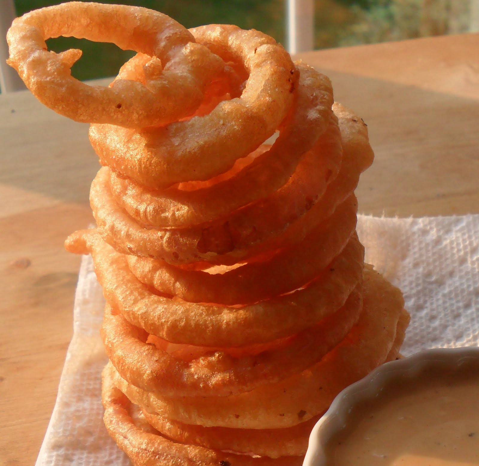 Onion Rings Without Milk Or Beer