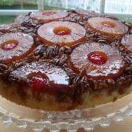 Pineapple Upside Down Cake, Etc…Father's Day Weekend Menu