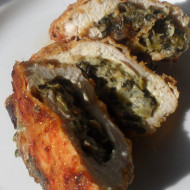 Spinach Stuffed Chicken Breasts…Refrigerator Challenge