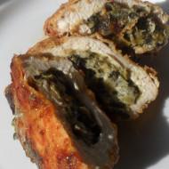 Spinach Stuffed Chicken Breasts…Refrigerator Challenge
