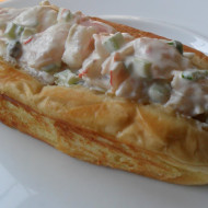 Shrimp Rolls…Shrimp Salad in Toasted Buttered Rolls