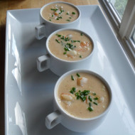 Creamy Shrimp & White Corn Chowder