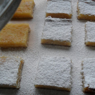 Here's To New Neighbors…Lemon Squares!