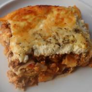 Easy Pasta Pie…The Beauty Of Leftovers!