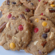 Salty-Sweet Peanut Butter Cookies…Upcoming Tasty Giveaway