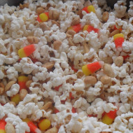 Tricks & Treats Popcorn…Happy Halloween!