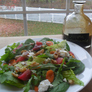 Apple Balsamic Vinaigrette…A Great Use For An Empty Bottle