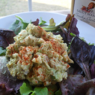 Chicken Salad with Saucy Mama Smoky Garlic Mustard & A Tasty Giveaway Too!