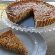 Beef & Peppers Quiche…Making Humble Ingredients Special