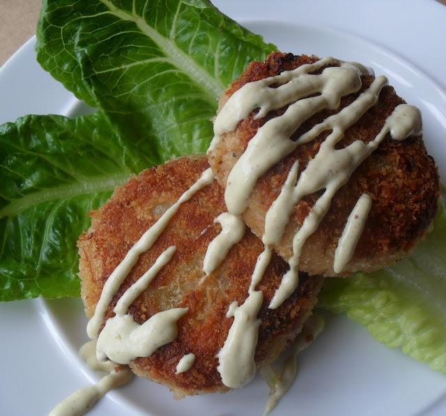 Dish Salmon Croquettes: Salmon Potato Croquettes