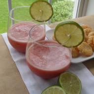 Happy Hour…Strawberry Lime Fizz