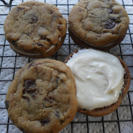 Cream Filled Chocolate Chip Cookies…The Best Refrigerator Challenge!