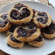 Savory Blueberry Palmiers