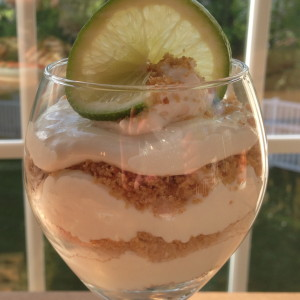Key Lime Mousse Parfait…Yes, more please!