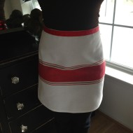 Cheap Chic Dish Towel Apron…Beginners Welcome!
