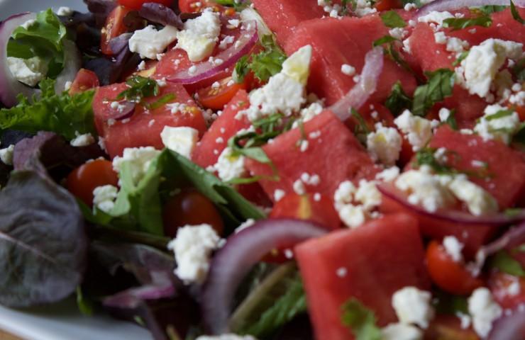 Watermelon and Feta Salad